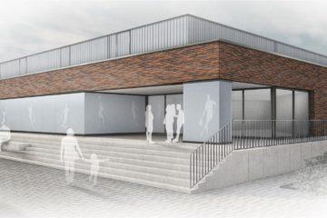 neubau 3 feld sporthalle gro schneen bmp architekten. Black Bedroom Furniture Sets. Home Design Ideas